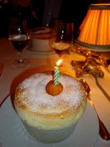 birthday souffle